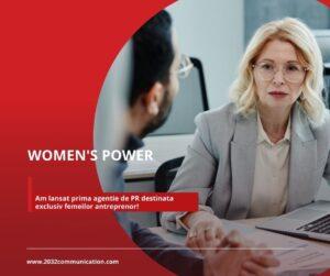 Prima agenție de PR destinata exclusiv femeilor antreprenor